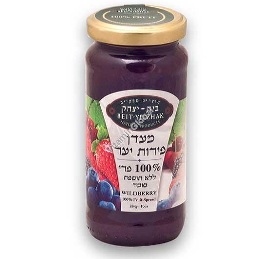 מעדן פירות יער ללא תוספת סוכר 284 גרם - בית יצחק