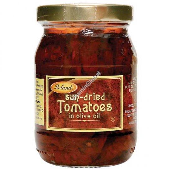 עגבניות מיובשות בשמן זית 340 גרם - רולנד