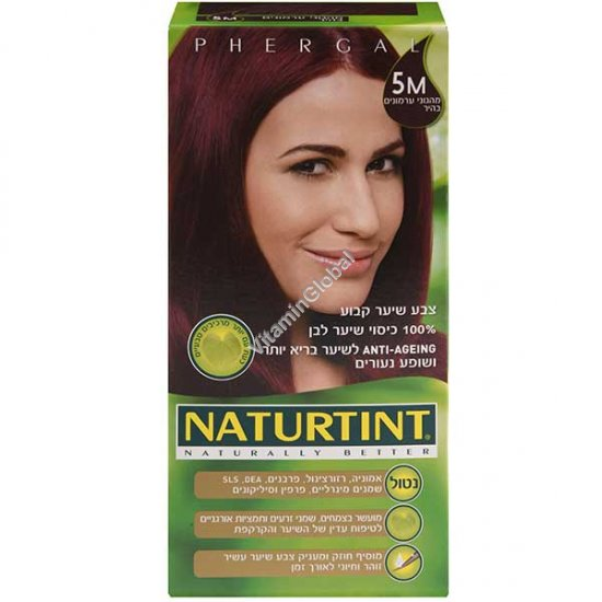 צבע לשיער גוון מהגוני ערמונים 5M - נטורטינט