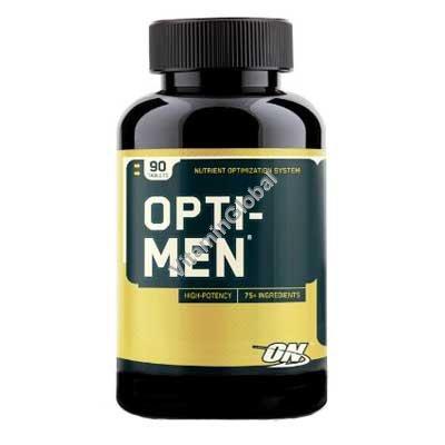 Opti-Men מולטי-ויטמין לגברים 90 טבליות - אופטימום נוטרישן