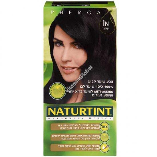 צבע שיער גוון שחור 1N - נטורטינט