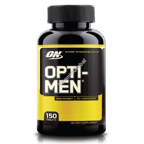 אופטי מן מולטי-ויטמין לגברים 150 טבליות-אופטימום נוטרישן