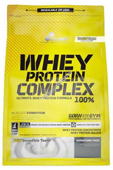 תשלובת חלבונים - חלבון מי גבינה מרוכז ואיזולאט מי גבינה בטעם שוקולד 700 גרם - אולימפ