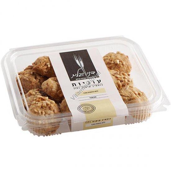 עוגיות מקמח כוסמין מלא קוקוס ואגוזי לוז, ללא תוספת סוכר 230 גרם - דני וגלית אפייה בריאה