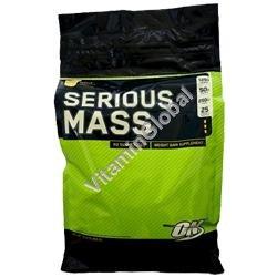 """אבקה לעליה במשקל סיריוס מאס בטעם בננה 5.455 ק""""ג - אופטימום נוטרישן + משלוח חינם"""