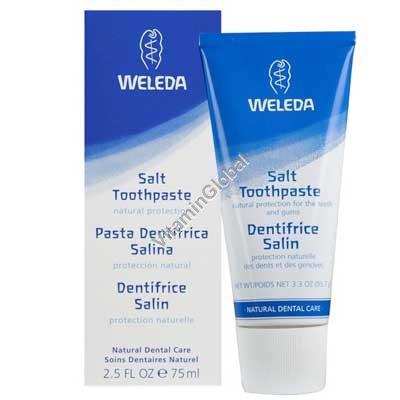 """משחת שיניים מלחית 75 מ""""ל - וולדה"""