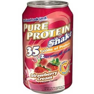 """משקה חלבון בטעם תות 325 מ""""ל - וורלדוויד"""