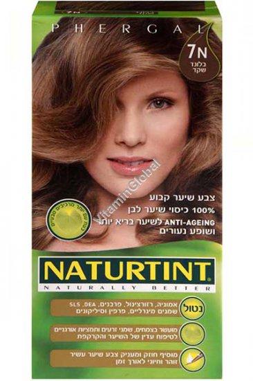 צבע שיער קבוע, גוון בלנד שקד 7N - נטורטינט