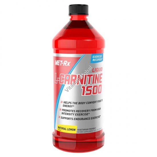 """ל-קרניטין נוזלי 1500 מ""""ג בטעם לימון 473 מ""""ל - מטריקס"""