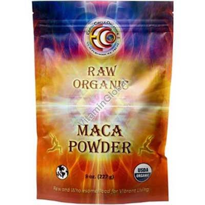 אבקת מאקה אורגנית 227 גרם - Earth Circle Organics