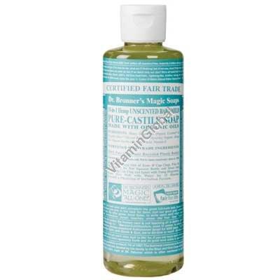 """סבון טבעי נוזלי לתינוקות 472 מ""""ל - ד""""ר ברונר"""