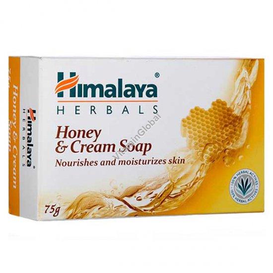 סבון קרם ודבש לעור רגיל 70 גרם - הימלאיה