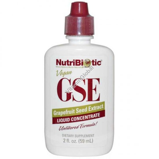 "GSE תמצית זרעי אשכוליות 59 מ""ל - נוטריביוטיק"