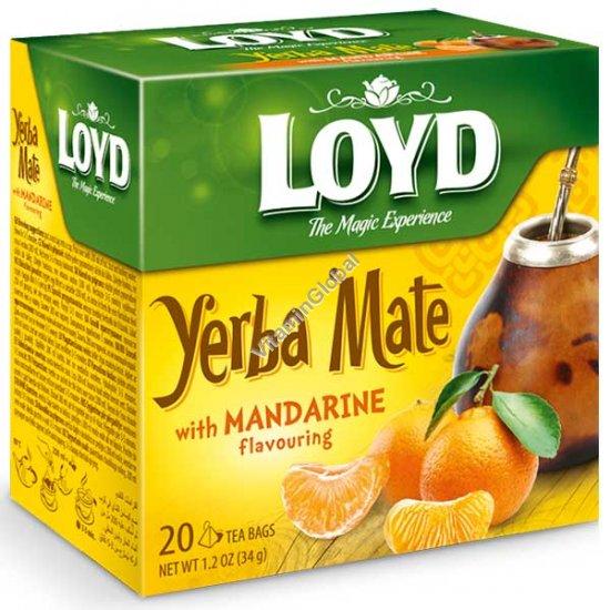 תה ג\'רבה מטה בטעם מנדרין 20 שקיות תה פירמידה - לויד