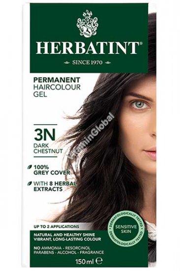 צבע לשיער גוון ערמוני כהה (3N) - הרבטינט