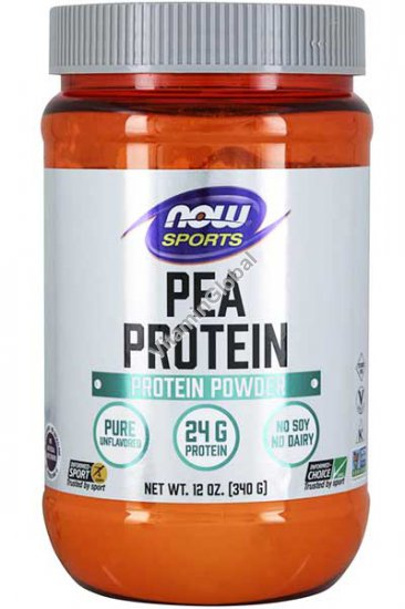 אבקת חלבון אפונה טבעי 340 גרם - נאו פודס