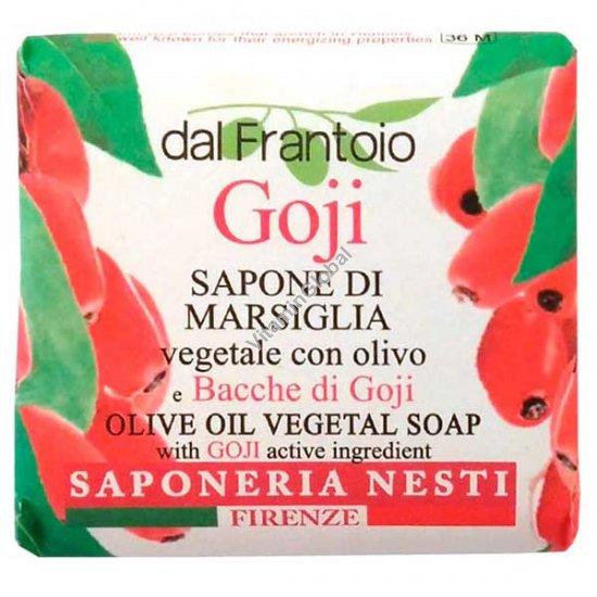 סבון טבעי עם שמן זית ותמציות גוג\'י ברי 100 גרם - נסטי דנטה
