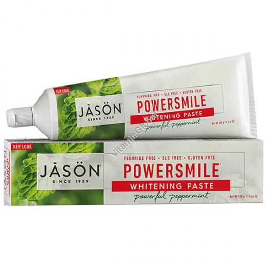 משחת שיניים טבעית מלבינה 170 גרם - ג\'סון