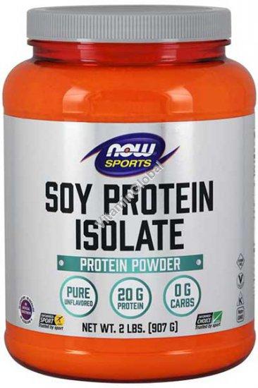 אבקת חלבון סויה איזולט 907 גרם - נאו פודס