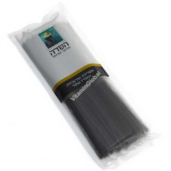 אטריות אורגניות מאורז שחור 250 גרם - השדה