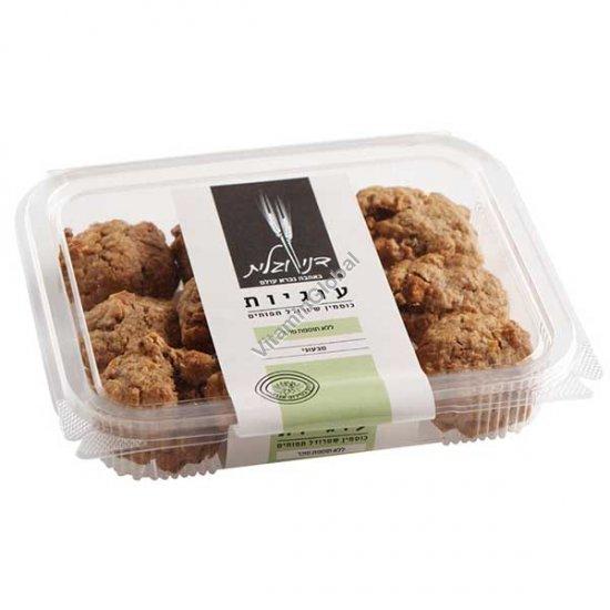 עוגיות מקמח כוסמין מלא שטרודל תפוחים, ללא תוספת סוכר 230 גרם - דני וגלית אפייה בריאה
