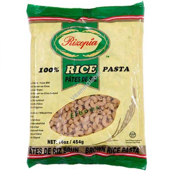 אטריות אורז חום מלא אלבו 454 גרם - ריזופיה