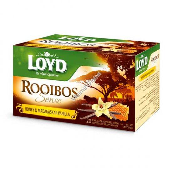 תה רויבוש בטעם דבש ווניל 20 שק\' - לויד