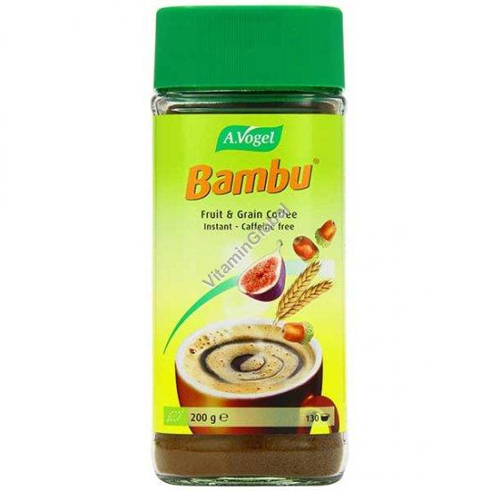 במבו - תחליף קפה אורגני- משקה על בסיס פירות ודגנים 200 גרם - א.ווגל