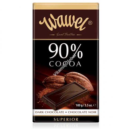 שוקולד מריר 90% קקאו 100 גרם - וואוול