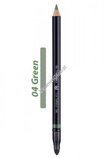 """עיפרון עיניים ירוק 04 - ד""""ר האושקה"""