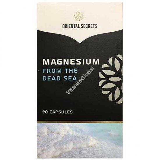 מגנזיום מים המלח 90 כמוסות - סודות המזרח