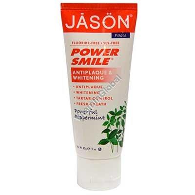 משחת שיניים טבעית מלבינה 85 גרם - ג\'סון