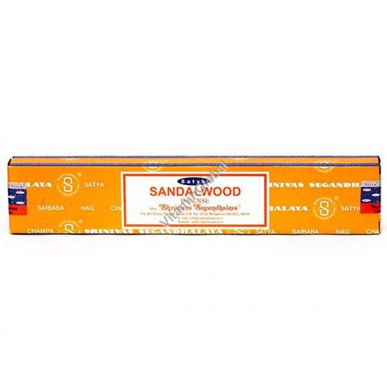 קטורת הודית טבעית סנדלווד 15 גרם - סאטיה