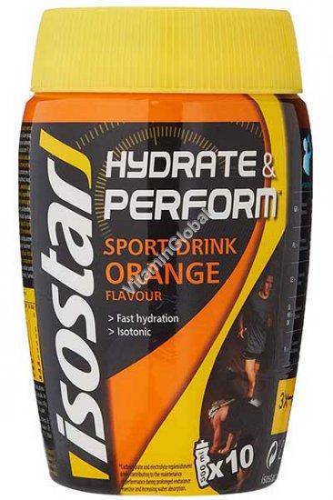אבקה להכנת משקה איזוטוני בטעם תפוז 400 גרם - איזוסטאר