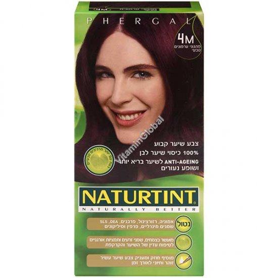 4M צבע שיער גוון מהגוני ערמונים טבעי - נטורטינט