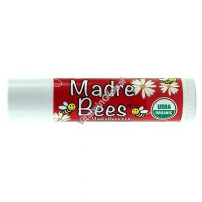 שפתון אורגני בניחוח רימונים 4.25 גרם - Madre Bees
