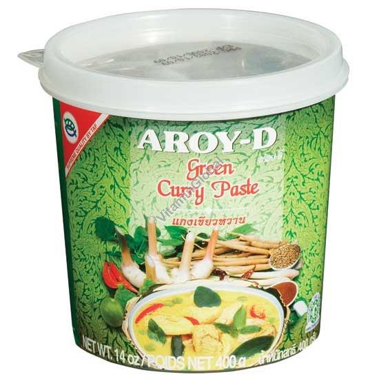 ממרח קארי ירוק 400 גרם - ארוי-די