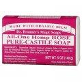 """סבון אמיתי טבעי ורד בר 140 גרם - ד""""ר ברונר"""
