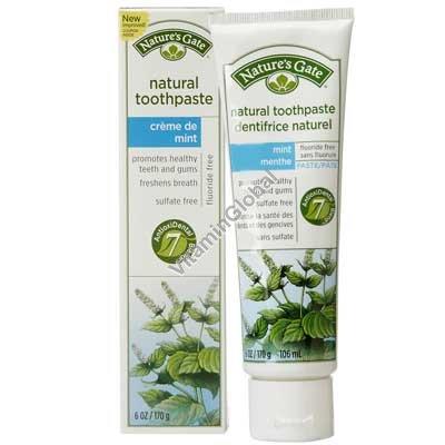 משחת שיניים טבעית בטעם מנטה 170 גרם - נייצורס גייט