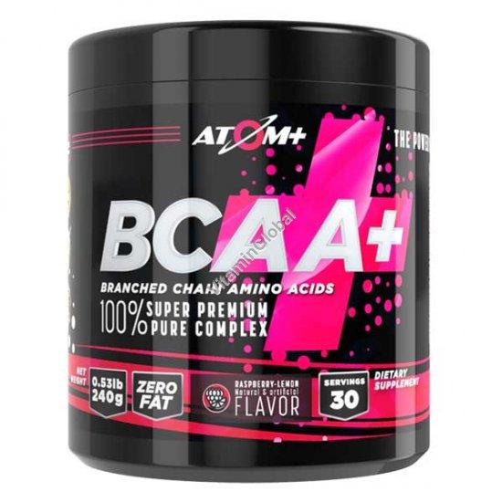 BCAA - אבקת חומצות אמינו בטעם פטל ולימון 30 מנות ארוזות מראש - אטום