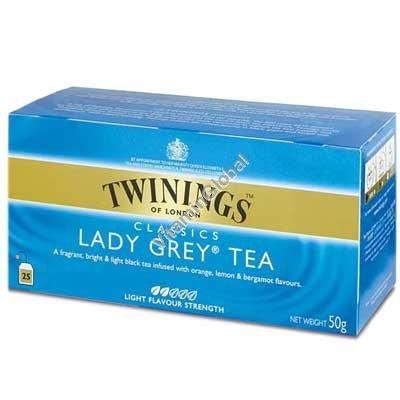 תה ליידי גריי 25 שקיות - טווינינגס