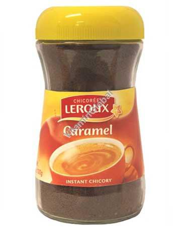 אבקה להכנה משקה ציקוריה בטעם קרמל 100 גרם - לרו