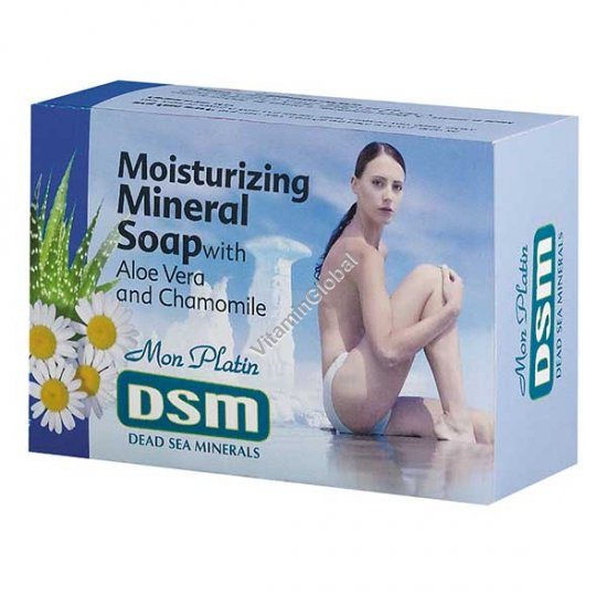 סבון לחות מינרלי 125 גרם - מון פלטין
