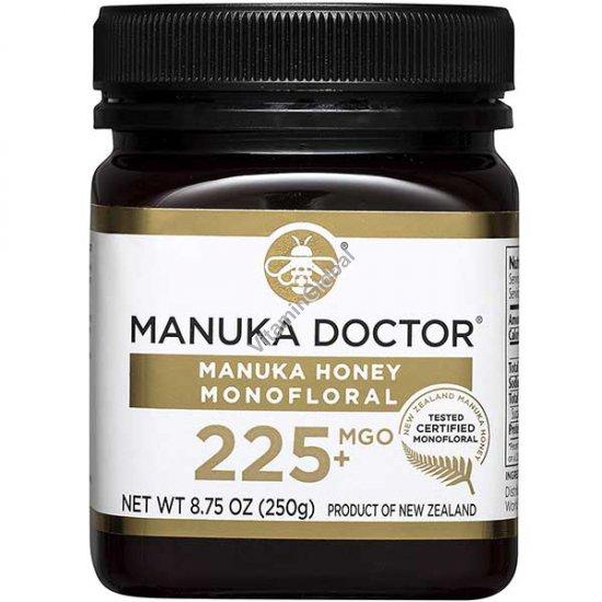 """דבש מאנוקה מונופלורל MGO 225 מכיל 250 גרם - מאנוקה ד""""ר"""
