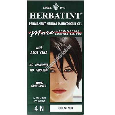 צבע לשיער גוון ערמוני (4N) - הרבטינט