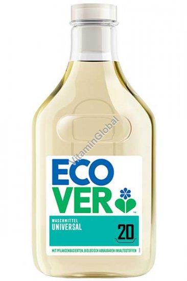 נוזל לכביסה אוניברסלי, פורמולה מרוכזת בניחוח יערה ויסמין 1 ליטר - אקובר
