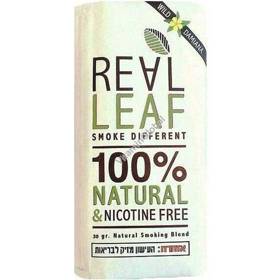 תחליף טבק - תערובת צמחים עם דמיאנה לעישון ללא ניקוטין 30 גרם - ריליף