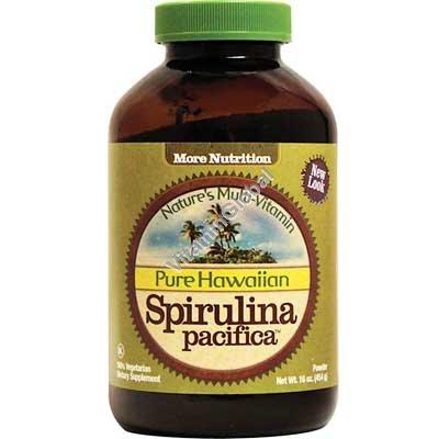 אבקת ספירולינה מהוואי 454 גרם - ג\'מוקה