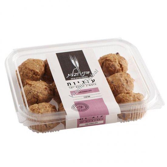 עוגיות מקמח כוסמין מלא פירות יער וחמוציות, ללא תוספת סוכר 230 גרם - דני וגלית אפייה בריאה