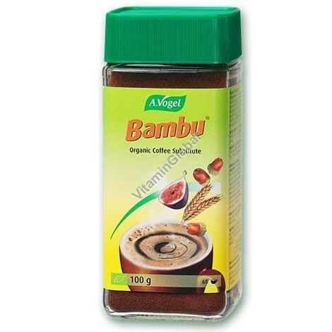 במבו - תחליף קפה אורגני- משקה על בסיס פירות ודגנים 100 גרם - א.ווגל